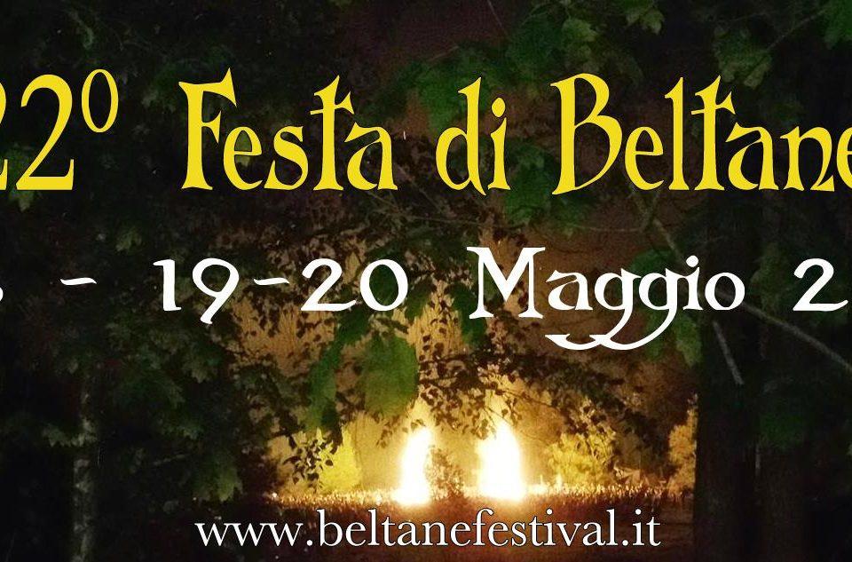 Locandina Festa di Beltane a Masserano -18, 19 e 20 Maggio 2018