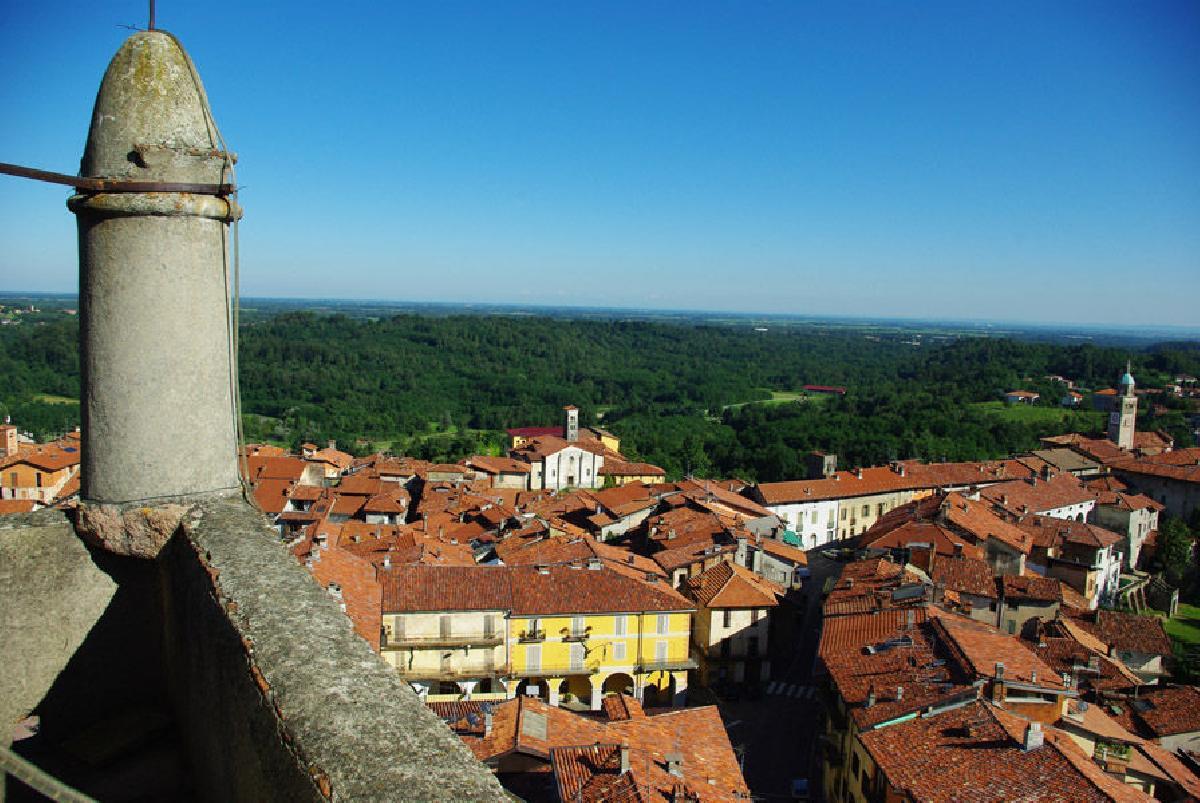 Foto Principato di Masserano: veduta panoramica dal campanile ©masserano.ov.it